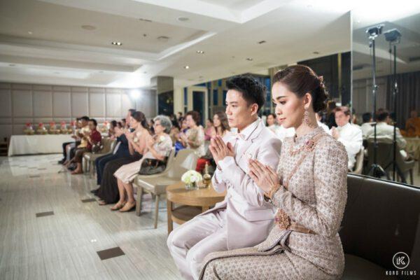 Thai Wedding Reception at Pullman Bangkok King Power Thailand