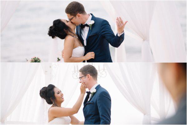 western wedding at Sea Sand Sun Resort & Villas Pattaya Thailand