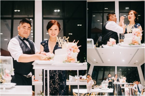 western wedding at the library samui thailand