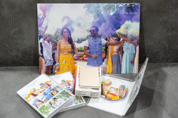 photobook package for desination wedding
